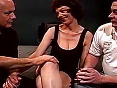 Dp Anal Threesome Swinger Wife Fucks Straners