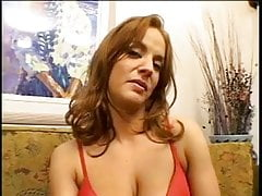 Cute brunette with pretty breasts gets her ass pounded