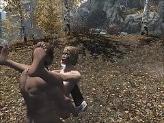 Skyrim - Sex Standing Position
