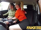 Fake Driving School Exam failure leads to hot sexy blonde