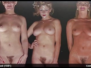 Softcore Celebrity Lesbian video: Kylie Foster, Nicci Lane, Julie Christy, Lyn Barron nude