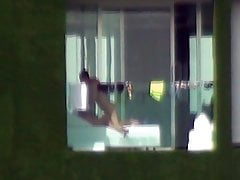 Hotel-Balkon-Spion