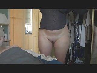 Amateur Shaved video: wifes shaved pussy hidden cam