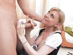 Nina MILF maid