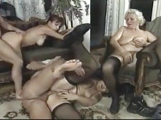 .young and mature gangbang.
