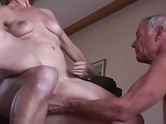 Amateur mature cuckold threesome 1