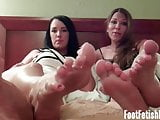 I have a blast rubbing your cock with my feet