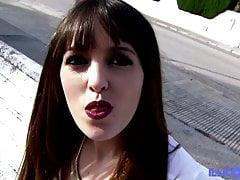 Buona scopata con Natty, bella massaggiatrice spagnola con grande na