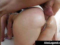 Alex Legend e Chris Strokes Bang Big Booty Fallon West!