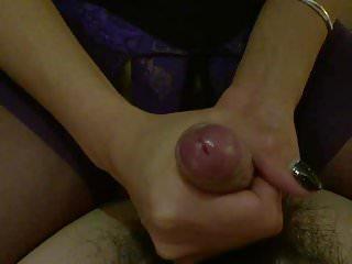 Girlfriend helped me masturbate