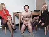 Made to jerk for two ladies