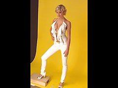 Lena Gercke Cosmopolitan Cover Shoot 2006