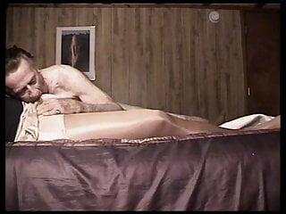 Amateur Shemale Lingerie Shemale Guy Fucks Shemale Shemale video: Silver Daddy Gropes and Eats Silky CD 1