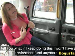 Pussy fucking brit sucks cabbie, dokud nehromadí