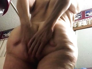 Voyeur Big Ass Mature video: Hidden camera on floor mature wife grandma bbw ass again