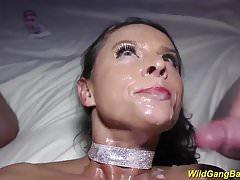 big boob Milf Sexy Susi wilde Bande schlug
