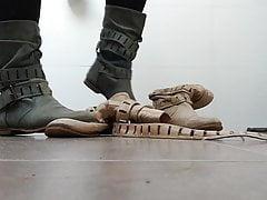 Buty niszczą buty