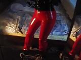 vinyl leggings