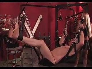 Femdom Ballbusting Humiliation video: Electric torture