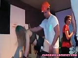 Gangbang Archive Bizzage Euro orgy in a dance club