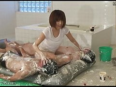 Japanese Female Domination Asami Moist And Messy