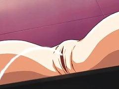 Schwanz fickt Anime Titten