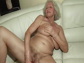 Grannies Sex Toys Granny video: The first time he fucks a hot granny!