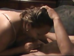 Real Cuckold Video: Latina wife cheating and sucking