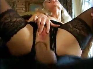 Vintage Lingerie Blonde video: blond