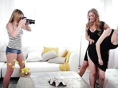 Mama, córka i fotograf