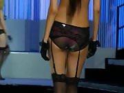 Chinese underwear model underwear show