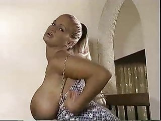 Blonde Big Tits Babe video: Big fake tits