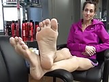 Mature soles and feet