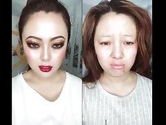 azjatycki makijaż