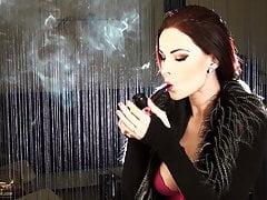 Pfeife rauchen Abbie Cat