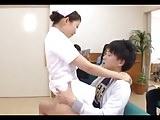 Jap Nurse attempts to shorten clinic waiting times