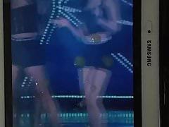 Le gambe di Apink Naeun cum (tribute) # 2