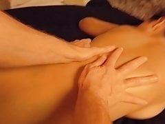 Echte burmesische Spritzmassage! Amateur Asiatisches POV-Öl GF