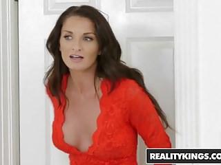Masturbation Babes Sex Toys video: RealityKings - Moms Lick Teens - Amara Romani Silvia Saige -