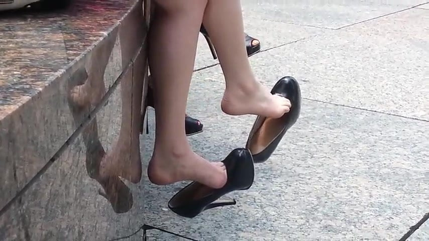 Foot Fetish Squirt Solo