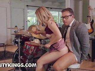 Small Tits Hd Videos Reality Kings video: Sneaky Sex - Abby Adams Chad White - Pound Her Drums