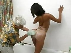 Old Man washing his korean student...F70