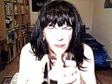 German Sissy Steffi Drinking Her Own Piss