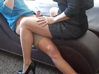 Matures Handjobs video: Mother Dominates Son