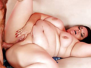 Hardcore Bbw Tight video: Plumper Takes a Cock into Her Tight Asshole