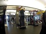 my fav gym ass whore