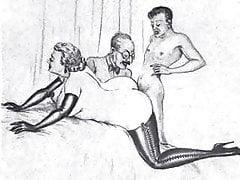 Reife Ehemannfrau und Liebhaber! Animation!