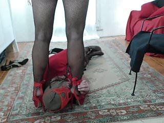 Pov Shemale Hd Videos Ladyboy Shemale video: Mistress Katryn torments Slave O (3)