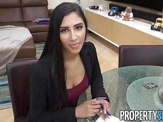 PropertySex - Super hot agent cheats on BF fucks client