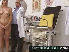Podgląd wideo z egzaminu gorącej blond obgyn